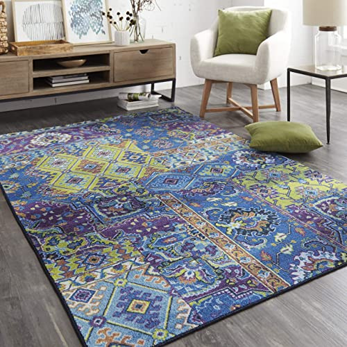 Mohawk Home Odell Lime Green Area Rug, 5 x8 ,
