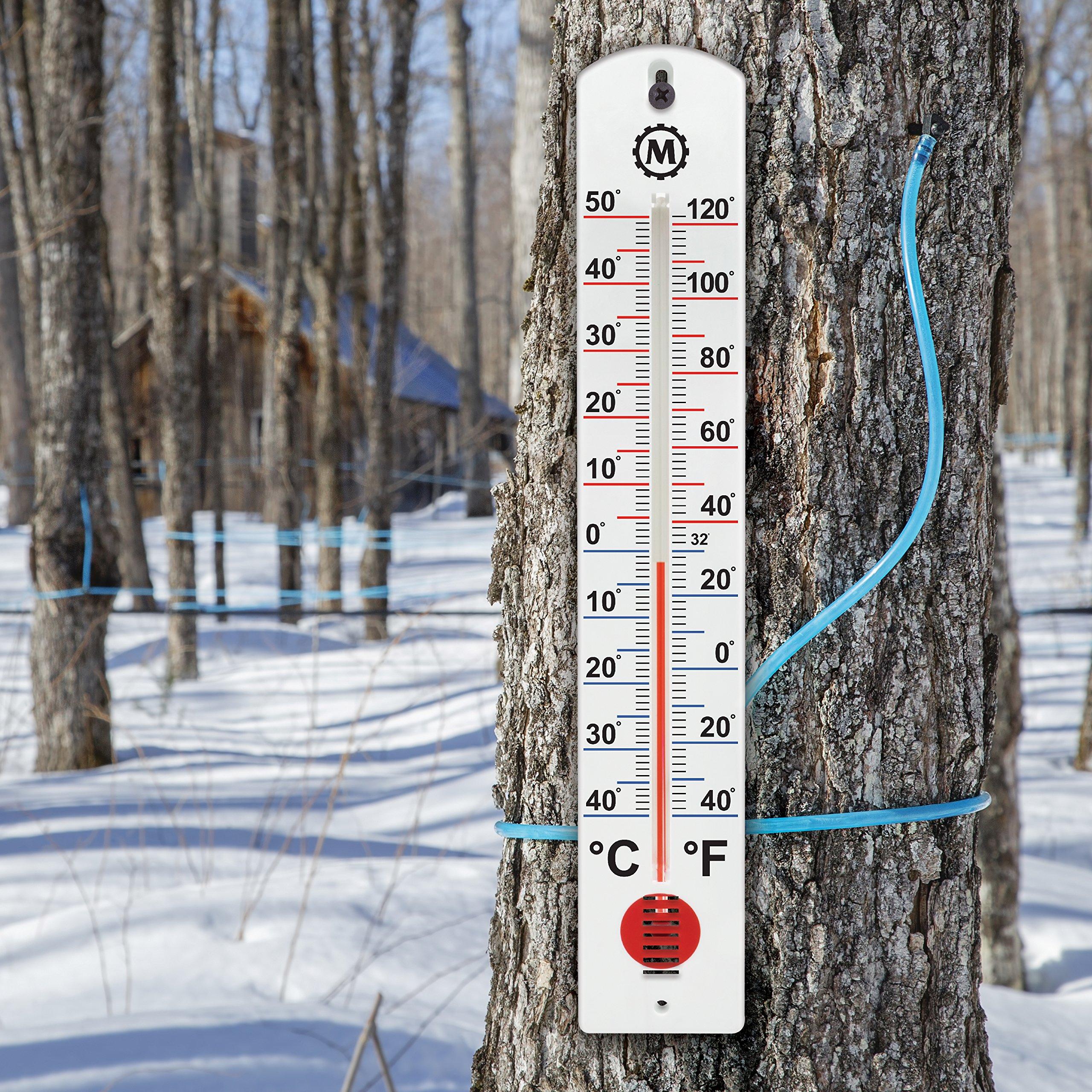 MARATHON BA030001-5 Vertical Outdoor Thermometer - 16-Inch, 5 Pack by Marathon (Image #2)