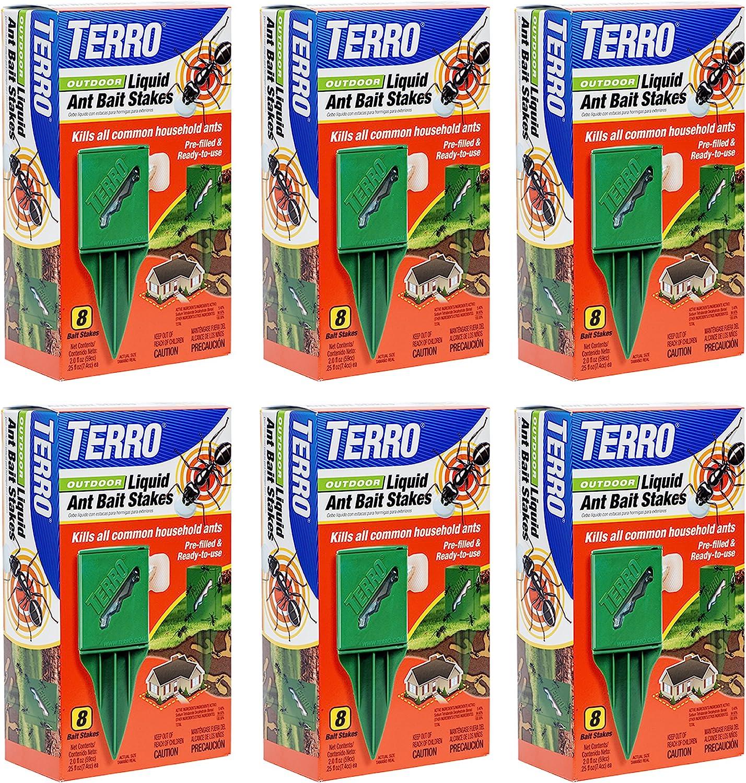Amazon Com Terro T1812 Outdoor Liquid Ant Baits 6 Pack Garden Outdoor