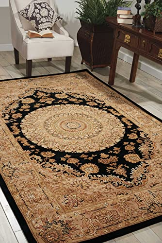 Nourison Nourison 2000 2233 Black Rectangle Area Rug