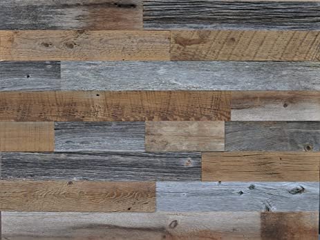 Amazon east coast rustic authentic reclaimed wood diy grey and east coast rustic authentic reclaimed wood diy grey and brown 35quot wide genuine reclaimed wood solutioingenieria