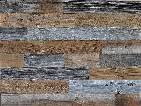 Amazon east coast rustic authentic reclaimed wood diy grey and east coast rustic authentic reclaimed wood diy grey and brown 35quot wide genuine reclaimed wood solutioingenieria Images