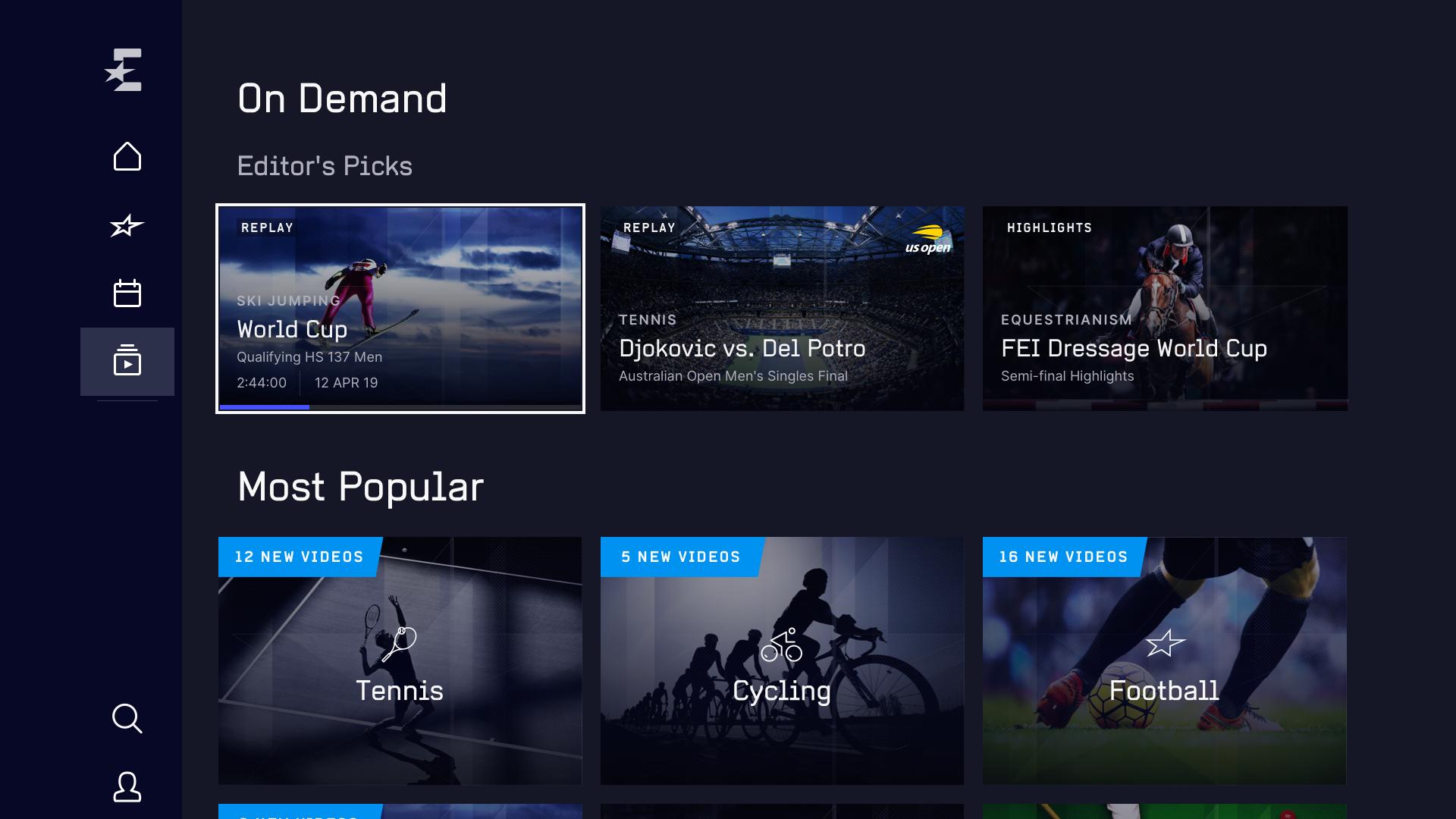 Eurosport Player Amazon Fire
