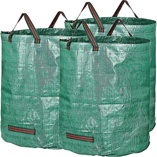 3 bolsas de basura para jardín de 272 litros, bolsas grandes ...