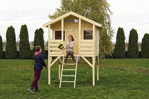Tobi - Casa de juegos para jardín: Amazon.es: Jardín