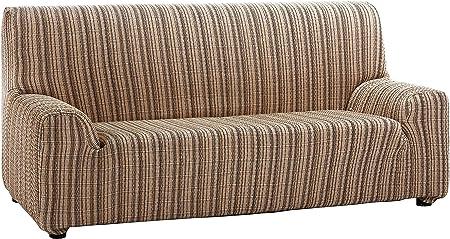 Oferta amazon: Martina Home Mejico - Funda de sofá elástica, Marrón, 1 Plaza, 70 a 110 cm de ancho