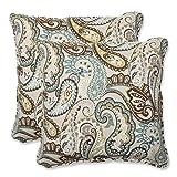Pillow Perfect Outdoor Tamara Paisley Quartz Throw