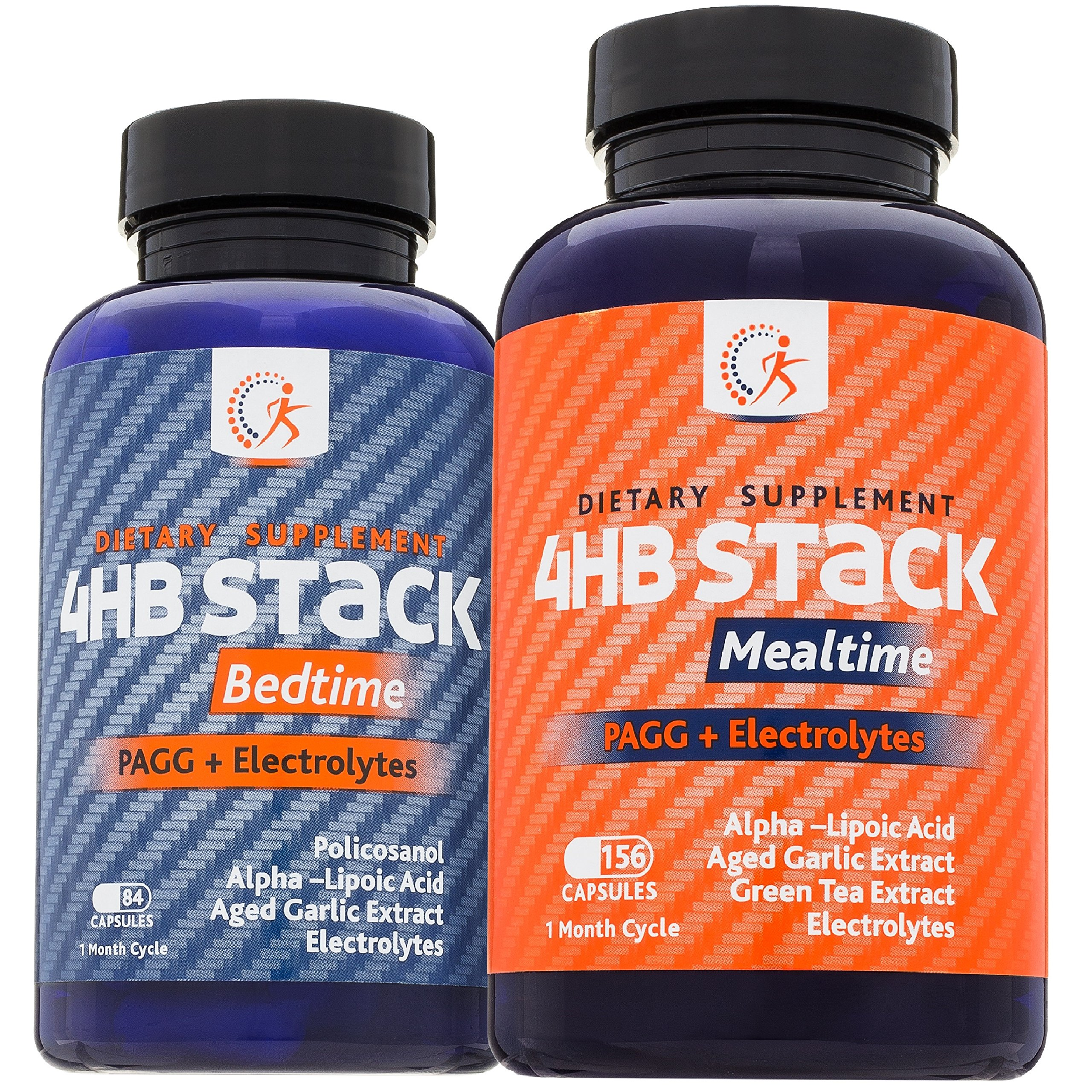 Premium PAGG Stack by Kirkland Science Labs - PAGG + Electrolytes - For Slow Carb Diet - Accelerate Your Weight Loss and Reach Your Goals Faster - No Risk Guarantee by Kirkland Science Labs