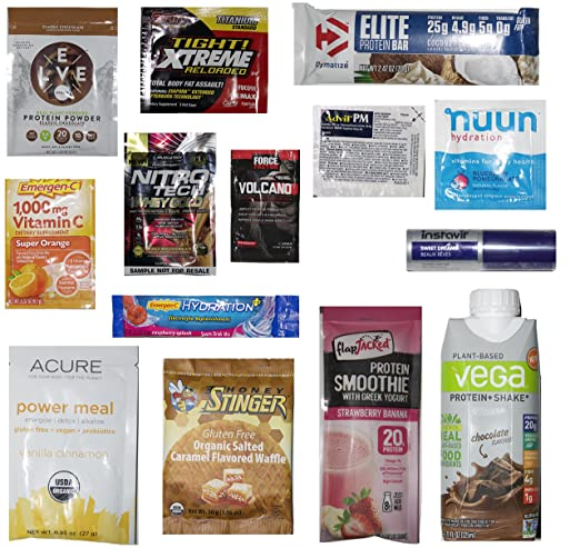 FREE Nutrition & Wellness Sample Box on Amazon after Credit