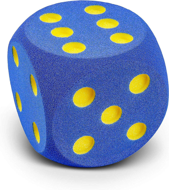 Volley Dado de gomaespuma 16 cm - Azul - Verde - Rojo