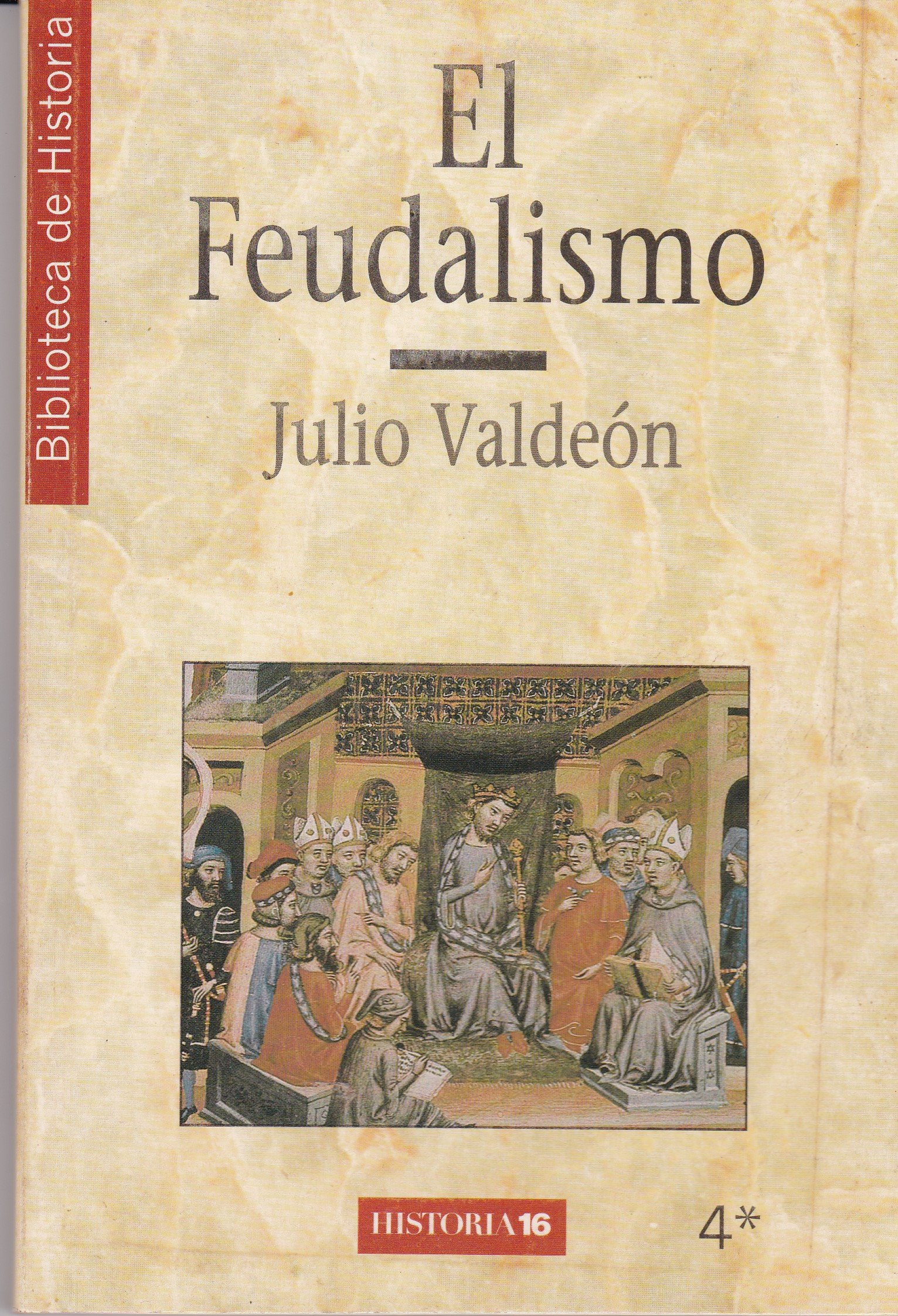 EL FEUDALISMO (2 TOMOS): Amazon.es: VALDEON, JULIO: Libros