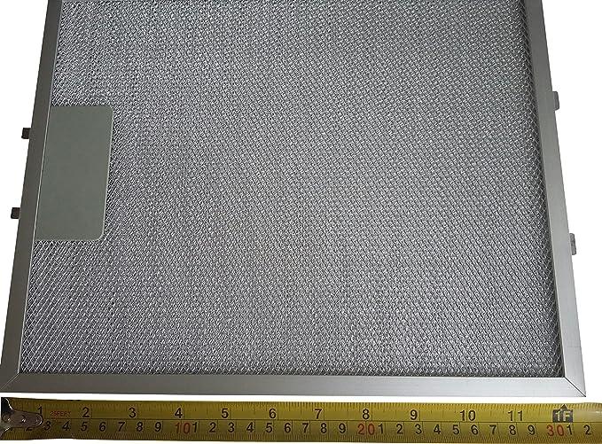 As Direct Ltd - Filtro de grasa de metal para campana extractora (2 unidades, 320 x 260 mm): Amazon.es: Grandes electrodomésticos