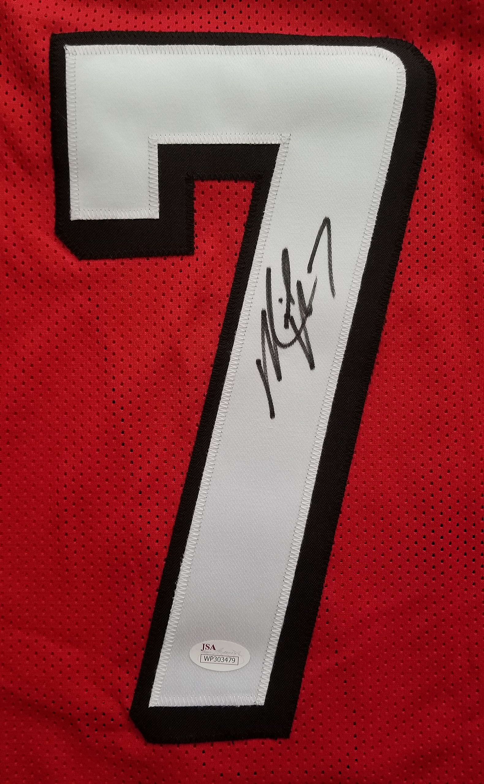 Mike Vick Signed Autographed Jersey Atlanta Falcons JSA