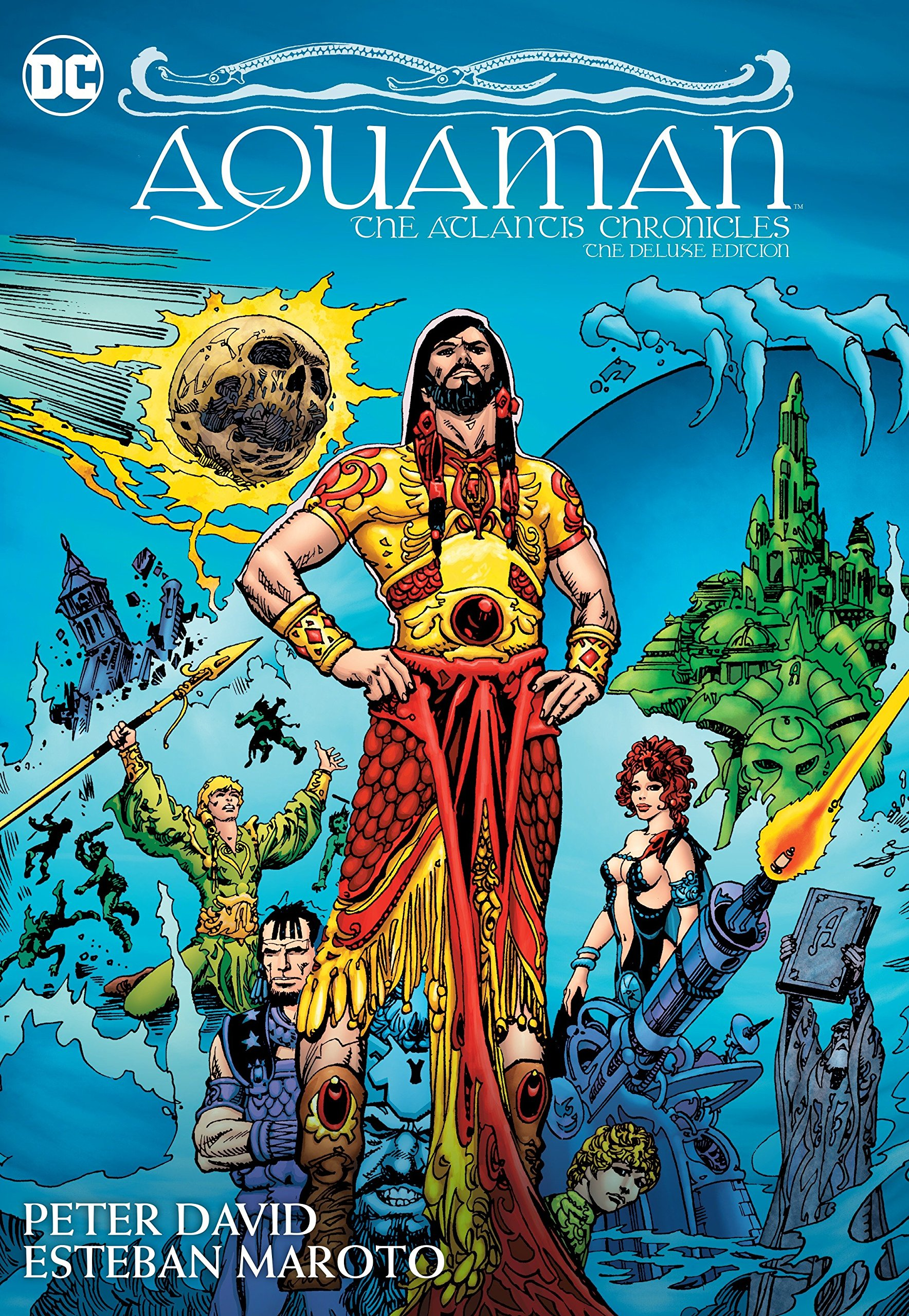 Read Online Aquaman: The Atlantis Chronicles Deluxe Edition PDF
