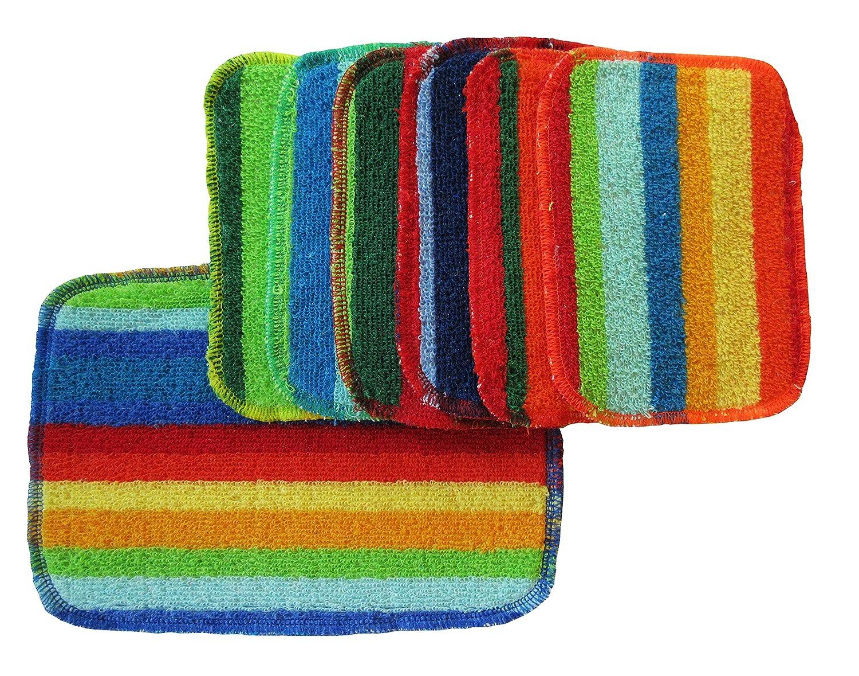 Rainbow Scrubbies 6 Regular + 1 Large Nawrocki Holdings COMINHKPR65391