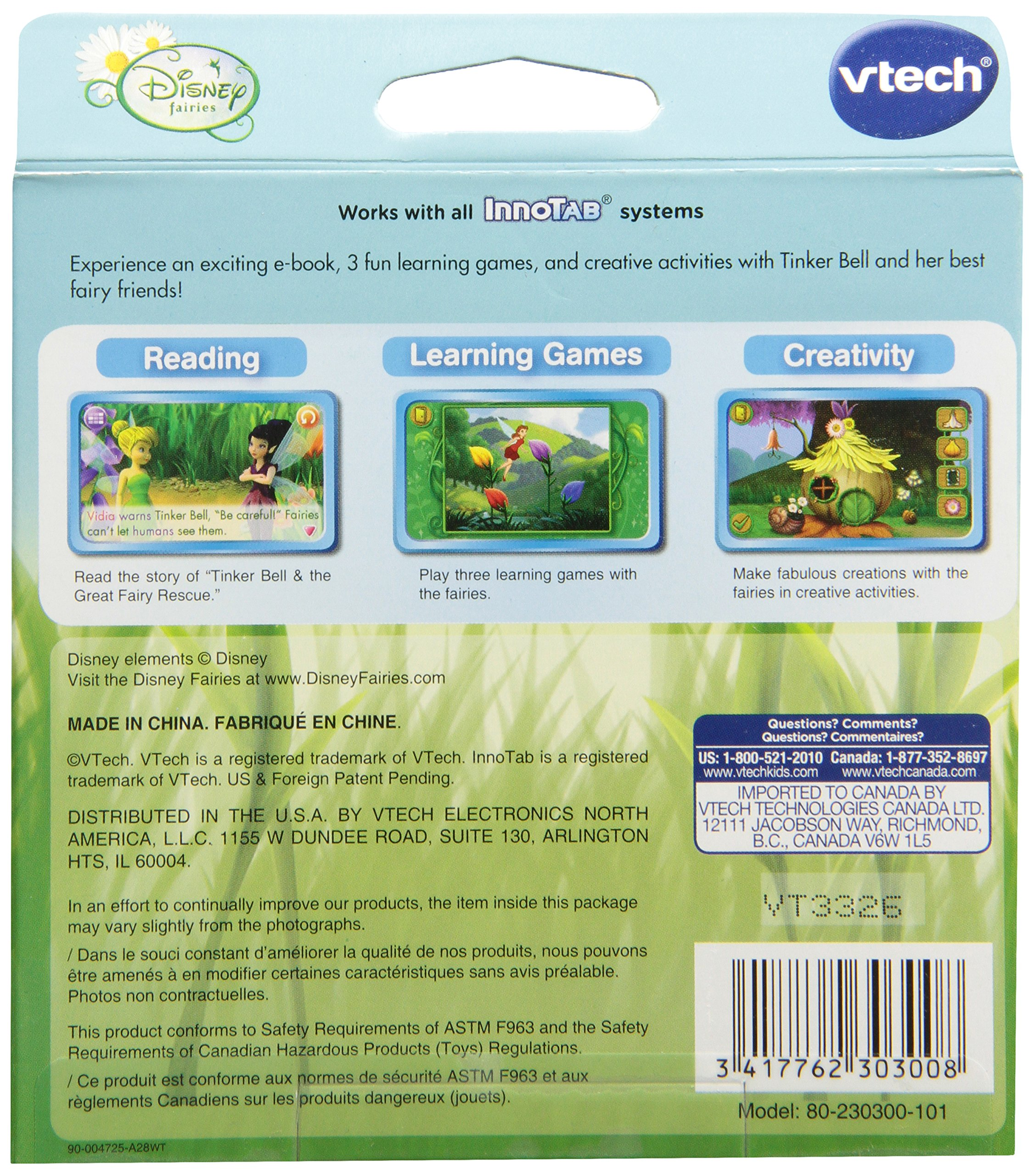 VTech - InnoTab Software - Disney Fairies by VTech (Image #2)