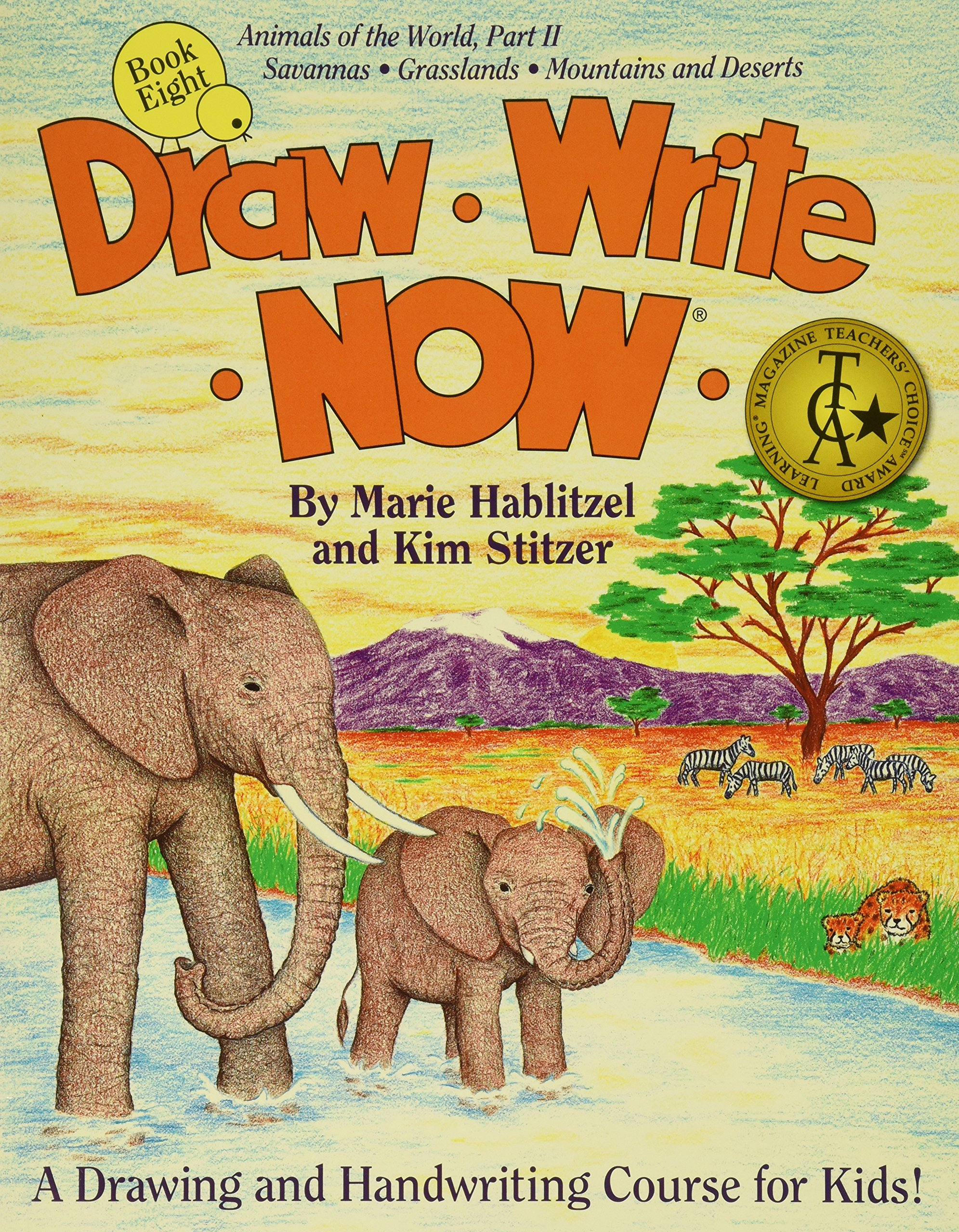 Draw Write Now Book 8: Animals of the World Part II: Grassland and Desert Animals PDF ePub fb2 ebook