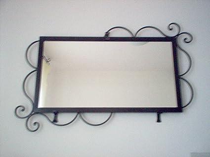 Accessori Per Il Bagno In Ferro Battuto : Cornice design per specchio foto ferro battuto realizzazioni