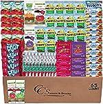 Fruit Snacks Variety Pack Bulk (65 count) Snacks for Kids Includes