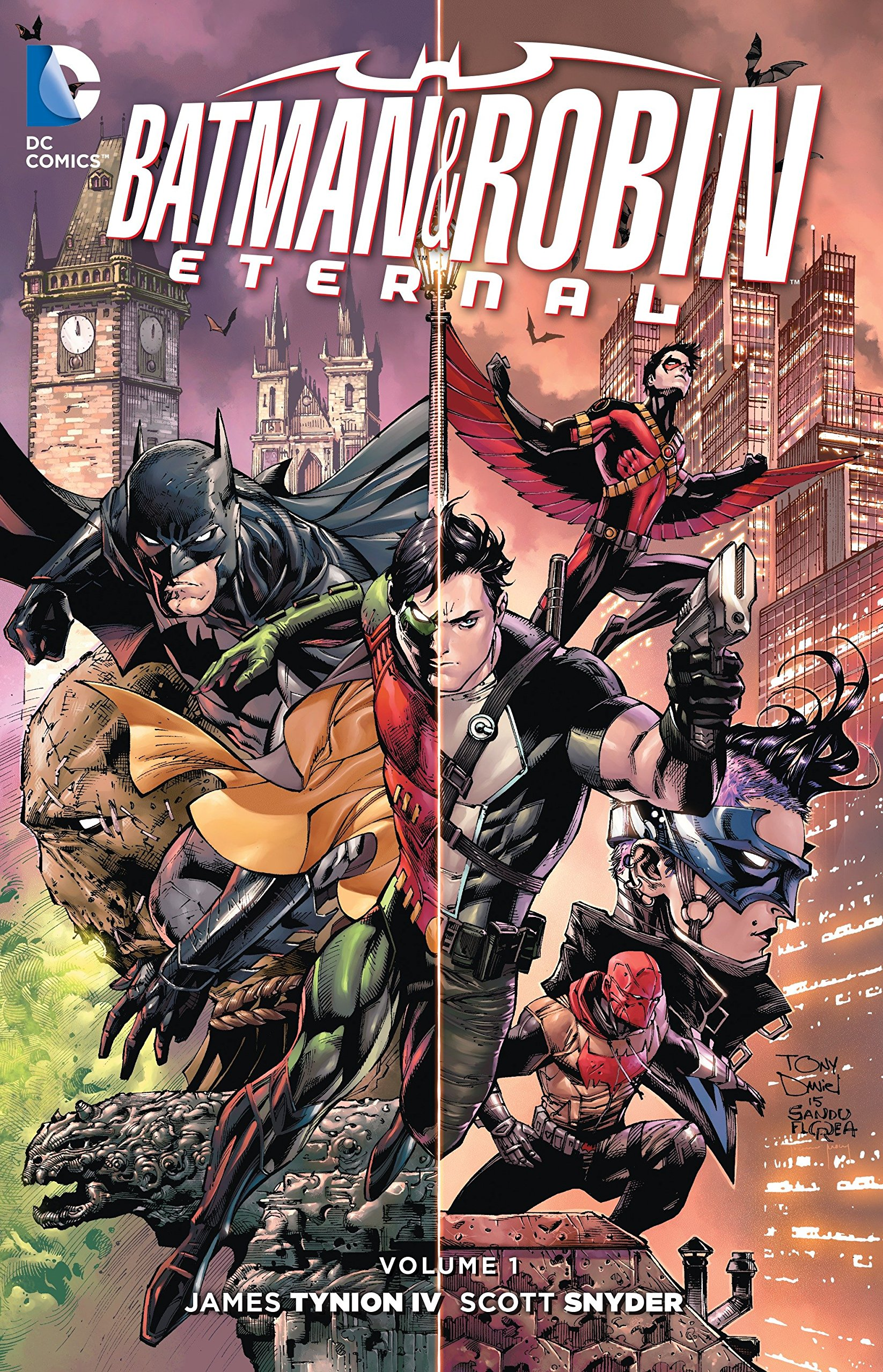Amazon.com: Batman and Robin Eternal Vol. 1 (9781401259679 ...