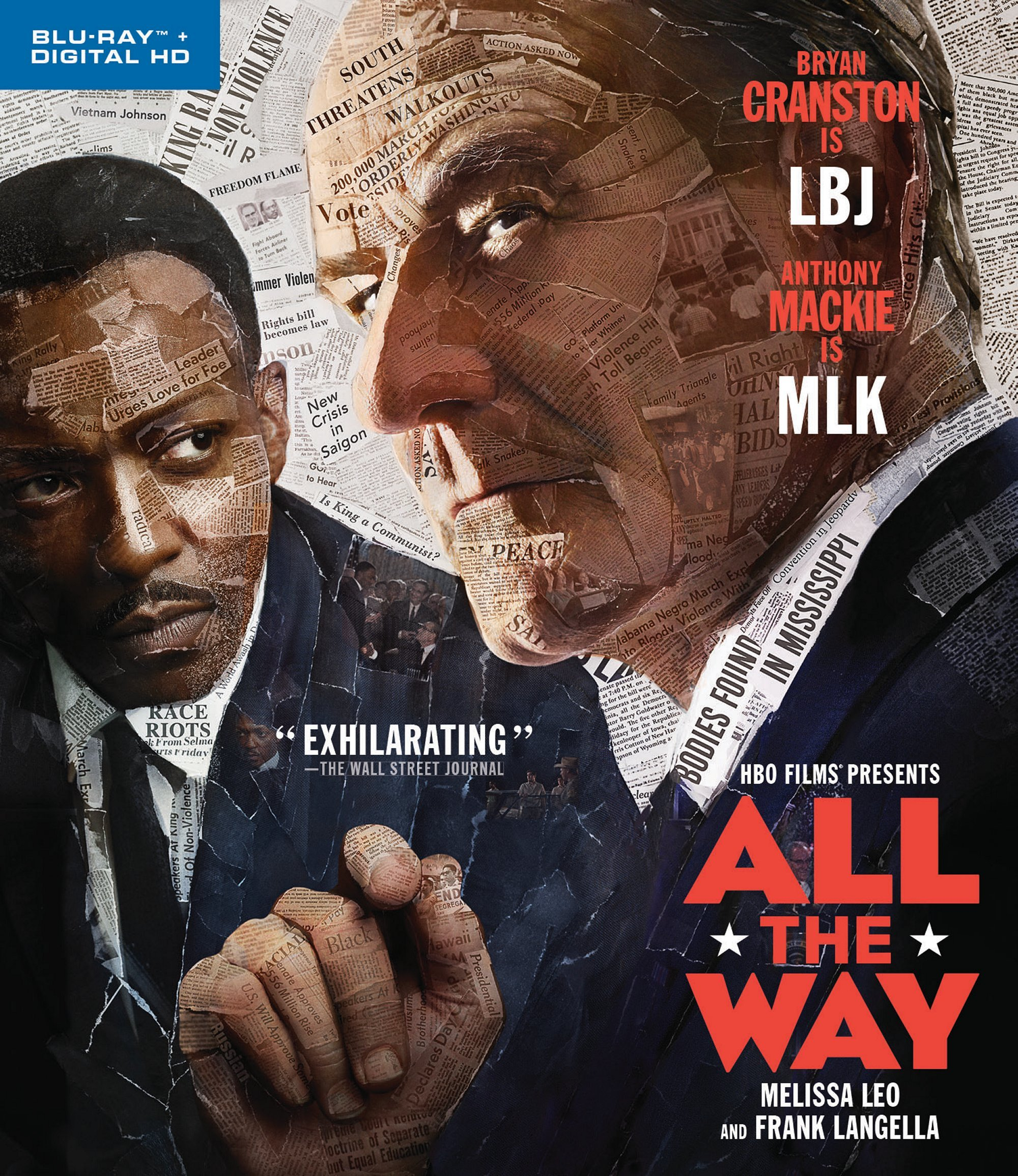 Blu-ray : All the Way (Ultraviolet Digital Copy, Digitally Mastered in HD)