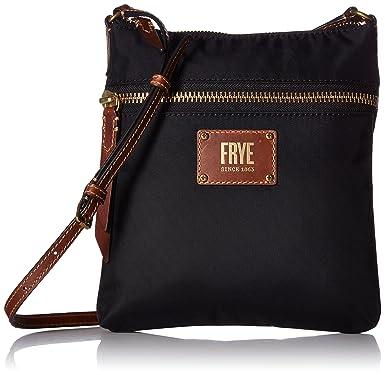 Ivy Zip Crossbody Nylon Handbag, Tan Frye