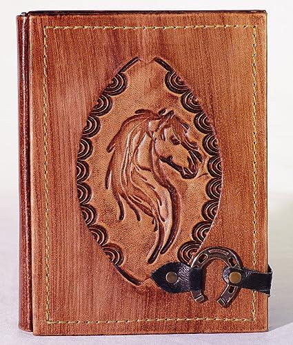 Journal Album Livre Pony Carnet Cheval avec fermeture Diary ...