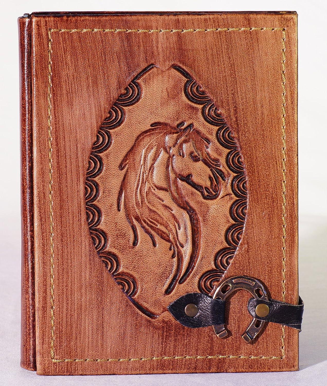 Vintage Notizbuch aus Leder   Pferd   Handarbeit   Braun   Größe M – 18,5 x 14,5 x 2,3 cm   300 Seiten   Notebook   Tagebuch   Gästebuch   Reisetagebuch   Skizzenbuch   Geschenk   Pony B014AOM9DM | Kaufen Sie online  | Großartig  |