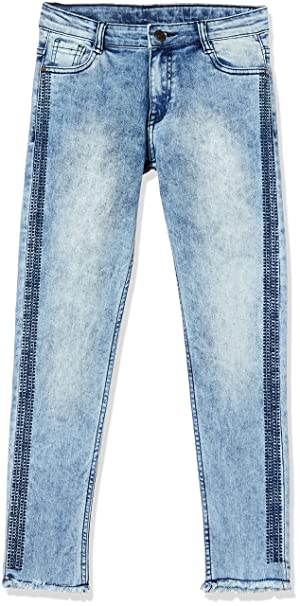 21bc665a9e9fb Cherokee by Unlimited Girls  Straight Regular Fit Jeans  Amazon.in  Clothing    Accessories