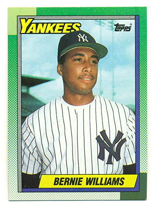 c7c6b8e4f Image Unavailable. Image not available for. Color: Lot of 50 1990 Topps Bernie  Williams #701 Rookie Card RC - New York Yankees