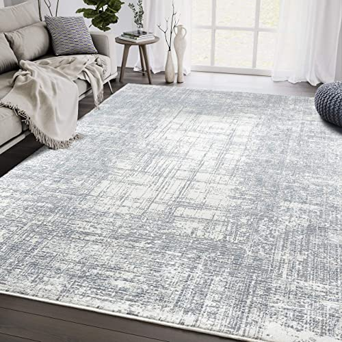 Aspen Collection Grey 5'3'x7'6' Area Rug