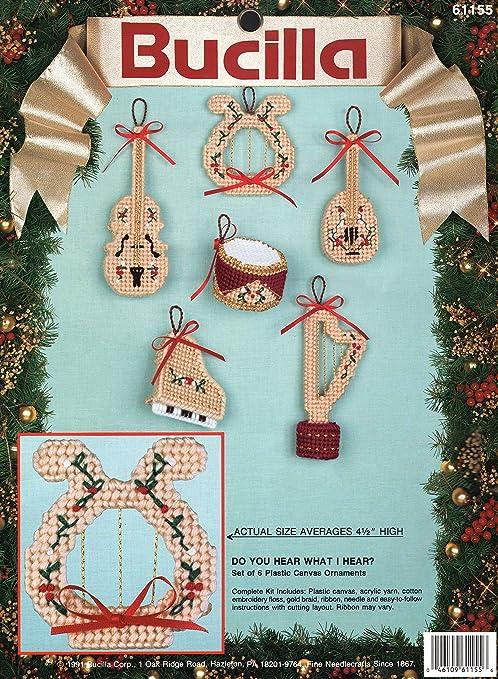 15 x 21.5 Bucilla 86871 Felt Wall Hanging Applique Kit Nordic Snowman