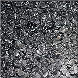 5 kg Marmor-Dekosteine 7//25 mm Marmorkies Dekokies PU-Harz ummantelt Alpen Gr/ün