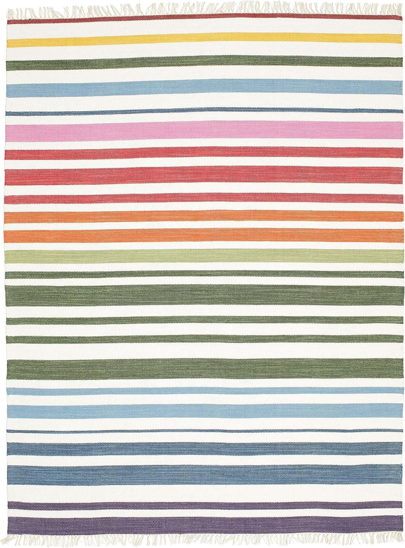 CarpetVista Alfombra Rainbow Stripe, 200 x 250 cm
