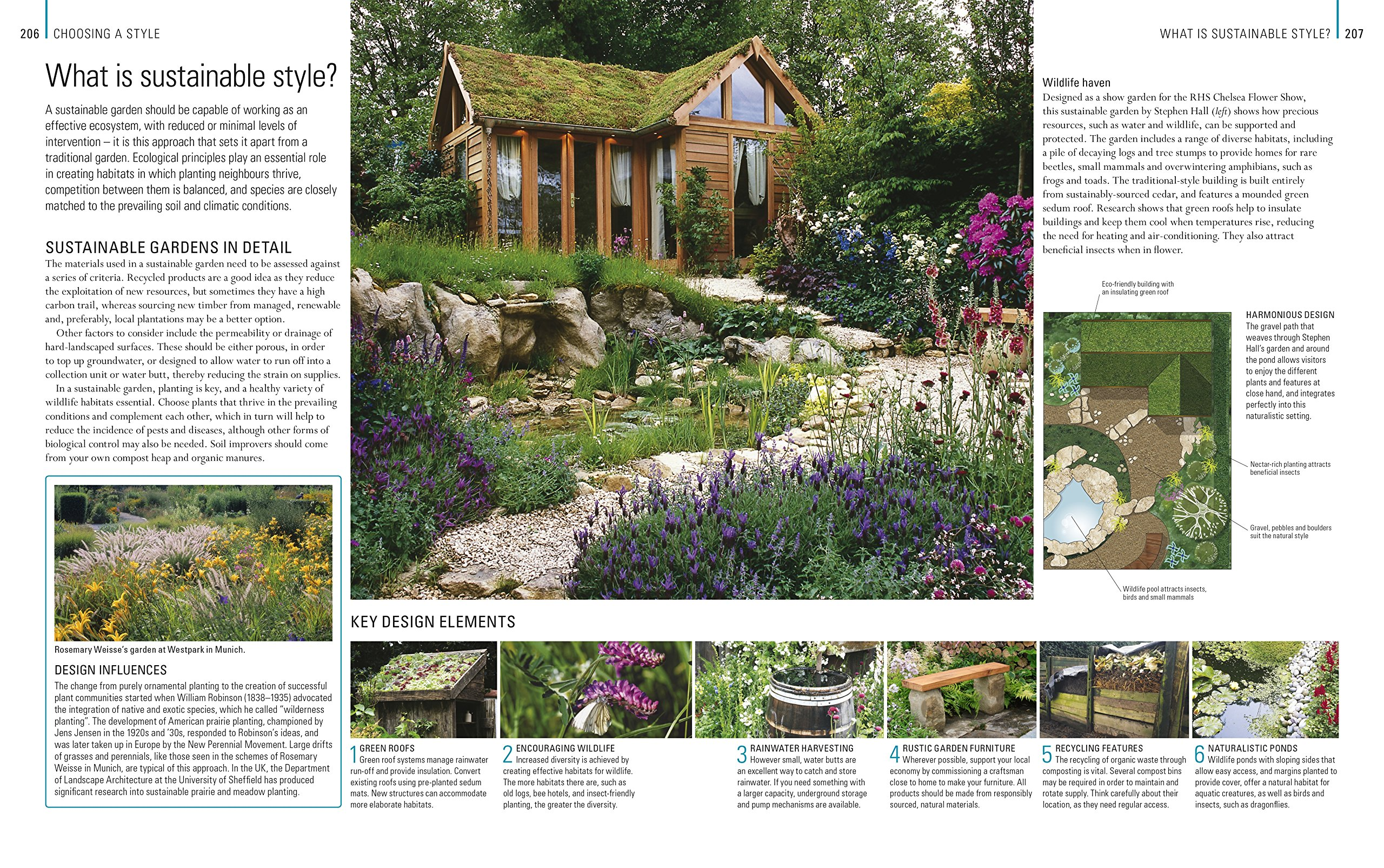 rhs encyclopedia of garden design dk