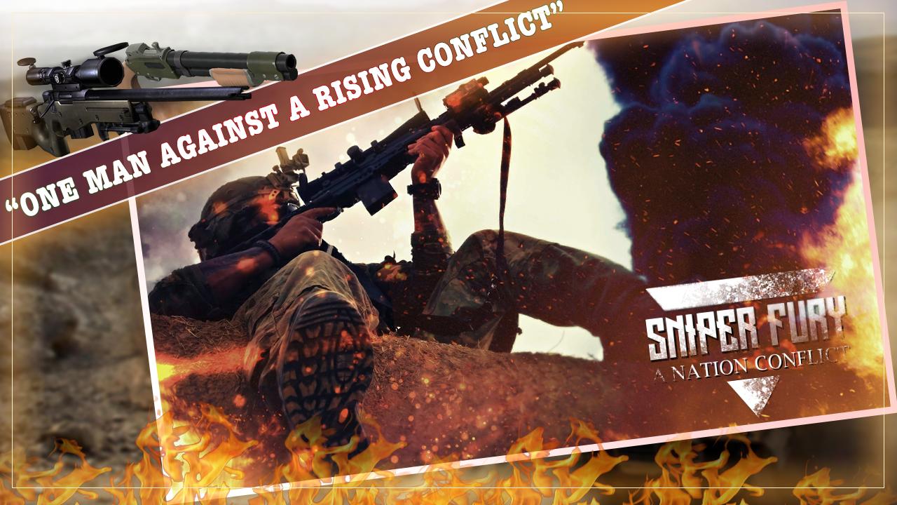 Sniper Fury: War HERO