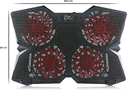 Skgames Notebook Laptop Kühler Gamer Kühlpad Ständer Amazon De Computer Zubehör