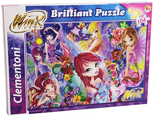 2 opinioni per Clementoni 20129- Puzzle Brilliant Winx, 104 Pezzi