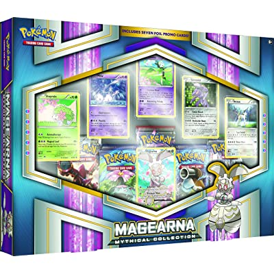 Pokèmon POK80305 Mega Powers Juego de Cartas Caja de Colección: Juguetes y juegos