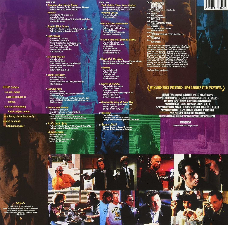 Pulp Fiction : Banda Sonora Original: Amazon.es: Música