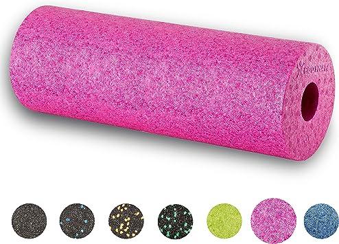Vari Colori e Misure BODYMATE Rullo a Fascia Active Medio-Duro Lunghezza 30 o 45 cm Diametro 15 cm con ebook Gratuito