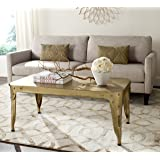 Safavieh Home Collection Classic Gold Iron Coffee Table, Black