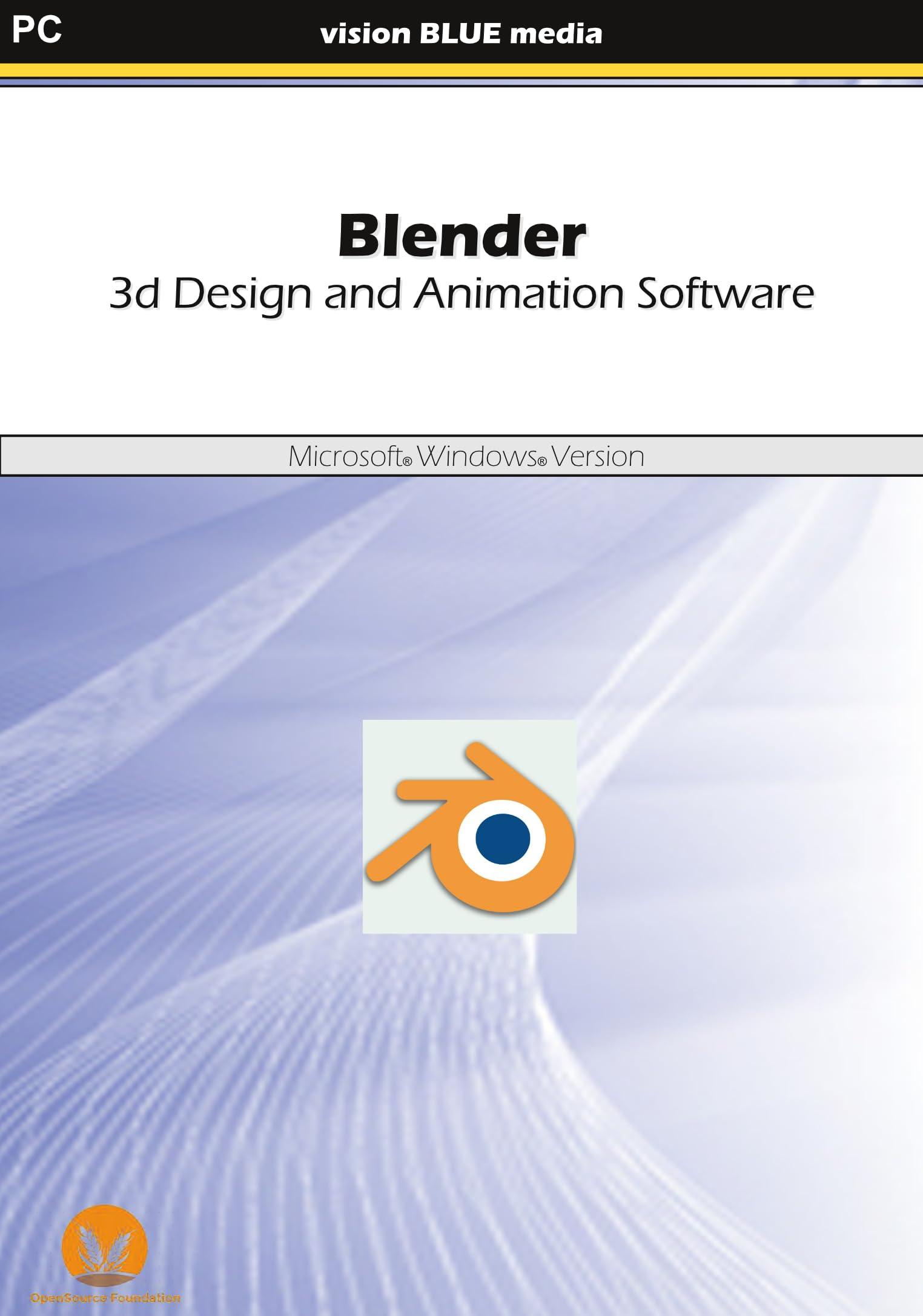 Amazon Com Blender 3d Design And Animation Software Download Software