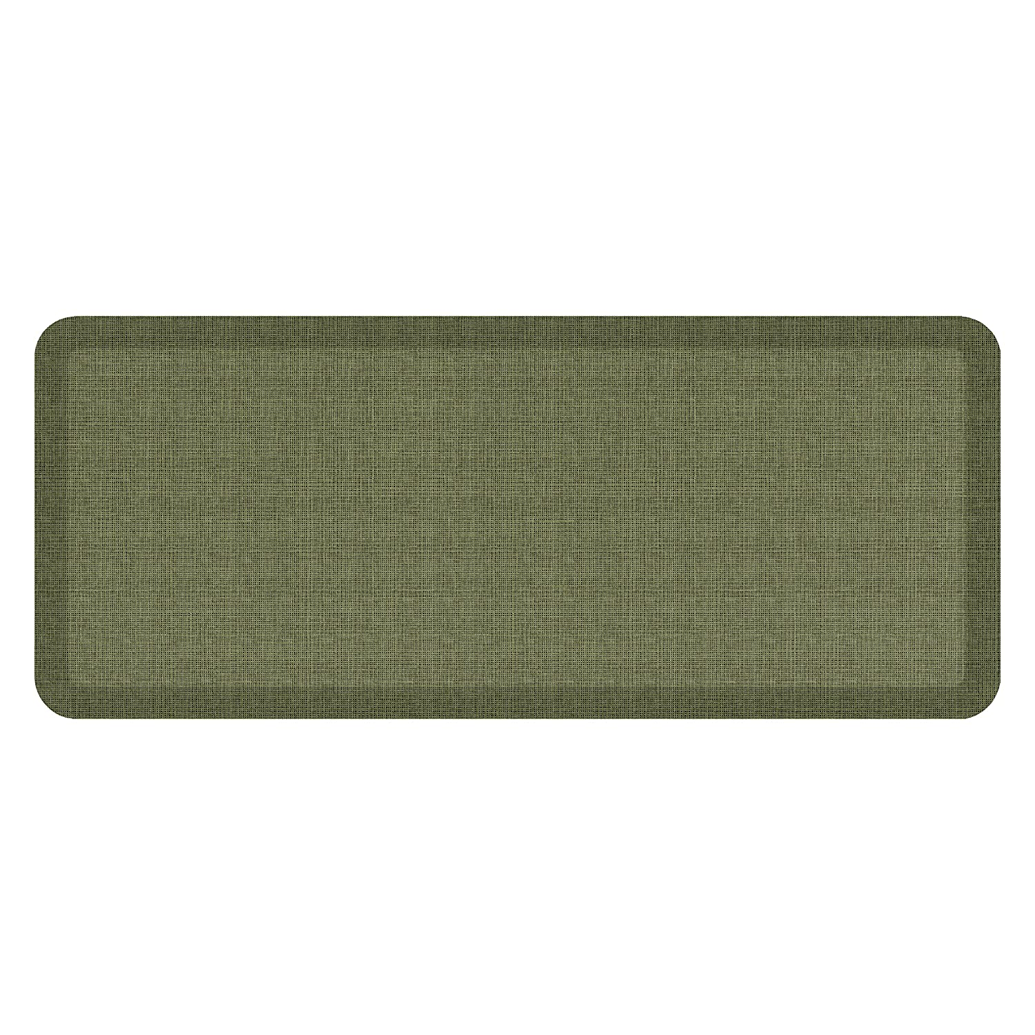 Tweed Green Valley 20  x 48  NewLife by GelPro Designer Comfort Mat, 20 by 72-Inch, Lattice Mineral Grey