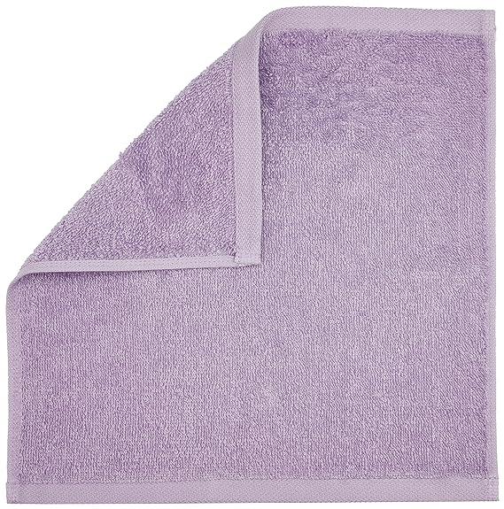 AmazonBasics - Paños de algodón (30,5 x 30,5 cm), pack de 24 - Lavenda: Amazon.es: Hogar