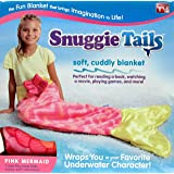 Snuggie Tails for Kids, Pink Mermaid