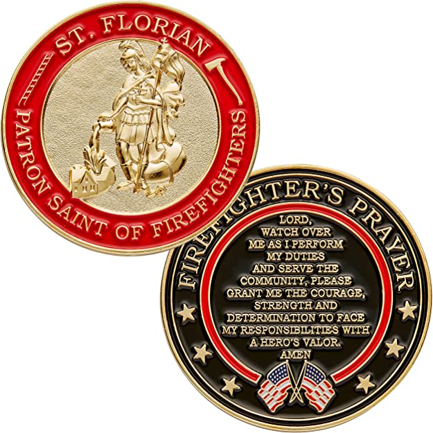 Firefighters Challenge Coin