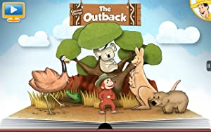 Curious George at the Zoo, The Outback by Houghton Mifflin Harcourt Publishing