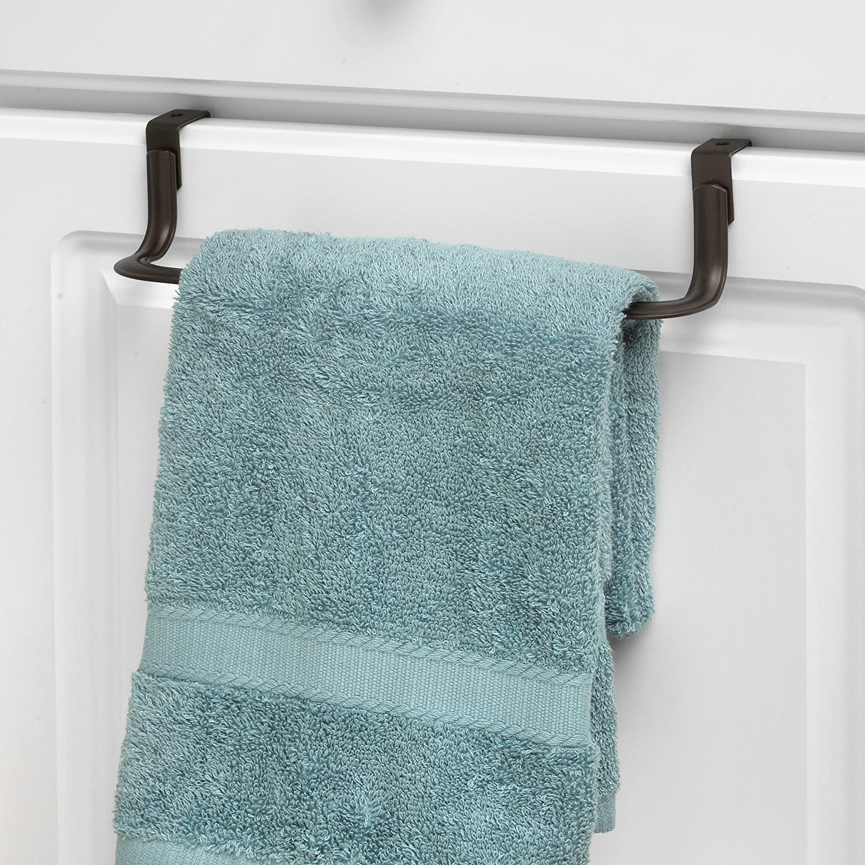Amazon.com: Spectrum Diversified Ashley Towel Bar, Over the Cabinet ...