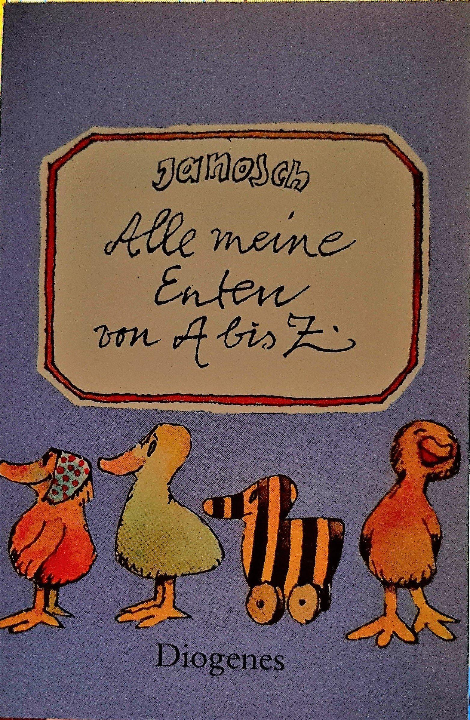Alle meine Enten von A - Z. Mein erstes Adreßbuch Gebundenes Buch 3257790805 MAK_VRG_9783257790801